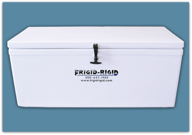 Picture of Frigid Rigid Ice Chest 105 qt - 18x18x36