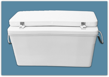 Picture of 3″ Set Back Ice Chest 63 qt - 18x18x24