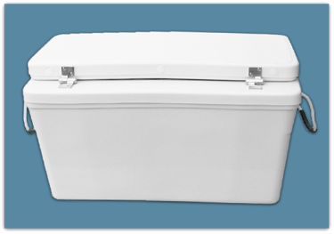 Picture of 10″ Set Back Ice Chest 170 qt - 18x24x39